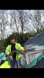 Roofers On Job